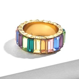 Crystal Baguette Ring | The Styled Collection