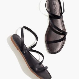 The Boardwalk Anklet-Strap Sandal in Leather | Madewell
