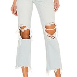 Free People Maggie Mid Rise Jean in Paradise Blue from Revolve.com   Revolve Clothing (Global)