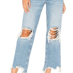 Free People Maggie Straight Jean in Light Denim from Revolve.com   Revolve Clothing (Global)
