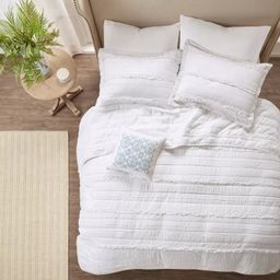 Alexis Ruffle Quilted Coverlet Set - 4pc | Target