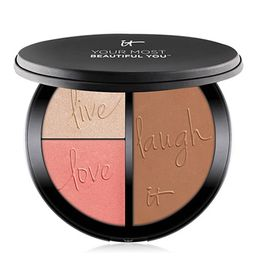 Your Most Beautiful You™ Anti-Aging Matte Bronzer, Radiance Luminizer & Brightening Blush Palet... | IT Cosmetics (US)