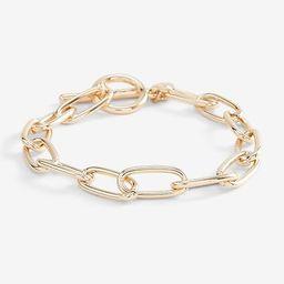 Paperclip Chain Toggle Bracelet$18.00$18.00shiny gold 413$18.00Shiny Gold 413Silver 414Select Siz... | Express