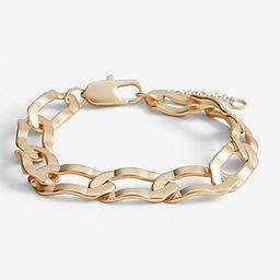 Crinkle Paperclip Chain Bracelet$20.00$20.00shiny gold 413$20.00Shiny Gold 413Size ChartAdd to Ba... | Express