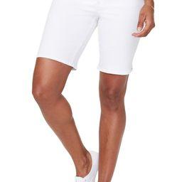 Ella Side Slit Denim Shorts | Nordstrom
