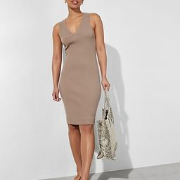 Sleeveless Ribbed Midi Sweater Dress$46.80 marked down from $78.00$78.00 $46.80Price Reflects 40%... | Express