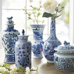 Blue Ming Small Ceramic Collection   Frontgate