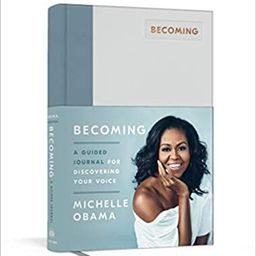 Becoming: A Guided Journal for Discovering Your Voice    Hardcover – November 19, 2019   Amazon (US)