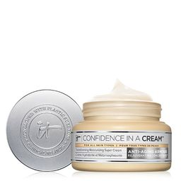 Confidence in a Cream Hydrating Moisturizer | IT Cosmetics (US)