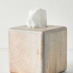 Fiji Tissue Box By Kassatex in White Size TISSUE BOX   Anthropologie (US)