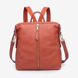 Urban Expressions Kenzie Pebbled Vegan Leather Backpack | Express