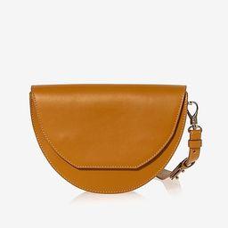 Joanna Maxham Leather Lune Saddle Crossbody Bag | Express