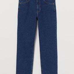 Straight High Ankle Jeans | H&M (US)