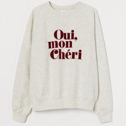Printed Sweatshirt | H&M (US)