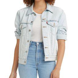 Women's Ex-Boyfriend Cotton Denim Trucker Jacket | Macys (US)