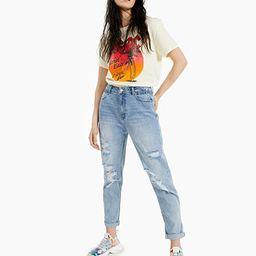 Juniors' Ripped Mom Jeans | Macys (US)