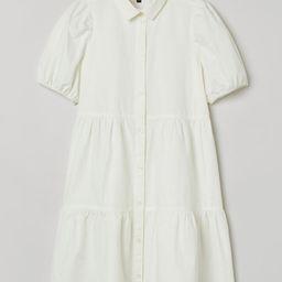 Cotton Poplin Dress   H&M (US)