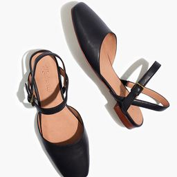 The Jeanne Slingback Flat in Leather | Madewell