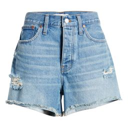 Curvy Relaxed Ripped Shorts | Nordstrom