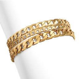 Trinity Curb Bracelet | The Styled Collection