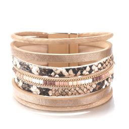 Muted Snakeprint Wrap Cuff | The Styled Collection