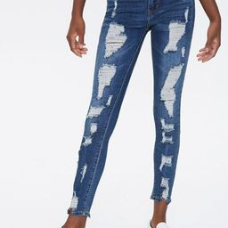 Distressed High-Rise Jeans | Forever 21 (US)