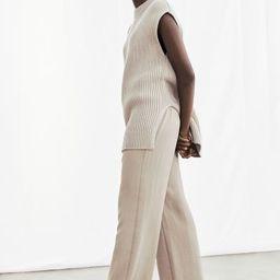 Wide-cut Lyocell-blend Pants   H&M (US)