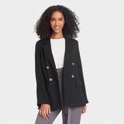 Women' Double Breated Blazer - A New Day™   Target