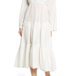 Billabong x The Salty Blonde Wanderlust Long Sleeve Cover-Up Maxi Dress   Nordstrom   Nordstrom