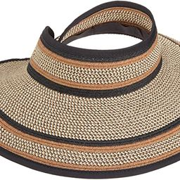 San Diego Hat Company Women's Ultrabraid Visor Hat | Amazon (US)