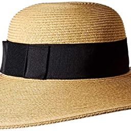 San Diego Hat Company Women's Ultrabraid Hat with Ribbon Hat | Amazon (US)