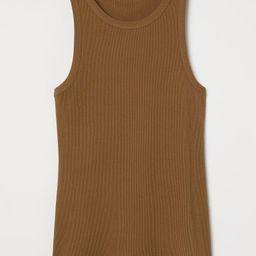 Silk-blend vest top   H&M (UK, IE, MY, IN, SG, PH, TW, HK, KR)