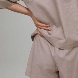 Linen-blend pyjamas   H&M (UK, IE, MY, IN, SG, PH, TW, HK, KR)