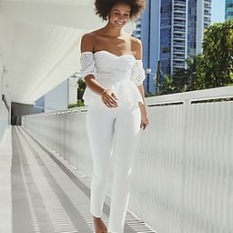 Super High Waisted Supersoft White Raw Hem Slim Jeans   Express