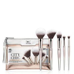 City Chic 5-Piece Makeup Brush Set - IT Cosmetics | IT Cosmetics (US)