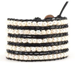 Freshwater Pearls on Black | Victoria Emerson