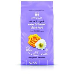 EcoScraps 4 lbs. Organic Rose and Flower Plant Food-PFRF174404 - The Home Depot   The Home Depot