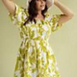Maeve Puff-Sleeved Mini Dress | Anthropologie (US)