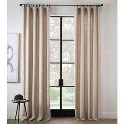 Belgian Flax Linen Rod Pocket Curtain | Pottery Barn (US)