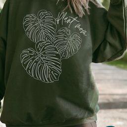 Plant Mom Sweatshirt  Plant Mom Shirt  Plant Shirt  Plant Lovers Gift  Plant Lady  Crazy Plant La...   Etsy (US)