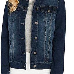 Buffalo David Bitton Womens Knit Denim Jacket | Amazon (US)