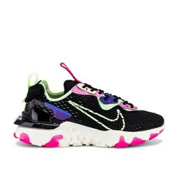 Nike NSW React Vision Sneaker in Black, Barely Volt, Royal Pulse, Beyond Pink, Pink Blast & Sail ...   Revolve Clothing (Global)