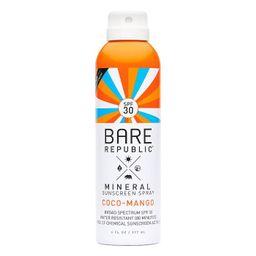 Bare Republic Coco Mango Mineral Spray - SPF 30 - 6 fl oz   Target