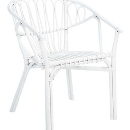 White Spirea Rattan Dining Chair - Set of Two   Zulily