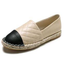 'Nina' Quilted Faux Leather Espadrilles (2 Colors) | Goodnight Macaroon