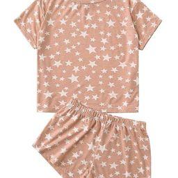 'Lanny' Star Print PJ Set | Goodnight Macaroon
