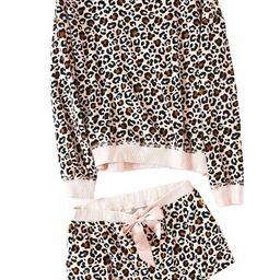 'Naomi' Sweater and Shorts PJ Set (2 Colors) | Goodnight Macaroon