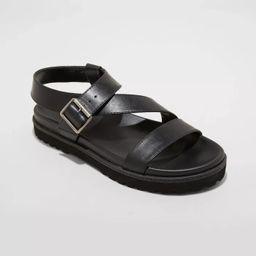 Women's Annika Platform Footbed Sandals - Universal Thread™   Target