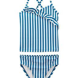 Striped Ruffle Tankini | Carter's