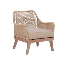 New!Natural Hand Woven Rope Accent Chair   Kirkland's Home
